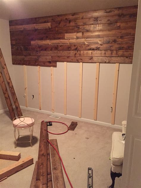what are walls made of wooden accent wall tutorial