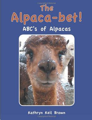the alpaca books the alpaca bet book written by kathryn keil brown