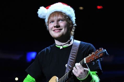 ed sheeran xmas ed sheeran is writing a christmas single fun kids the