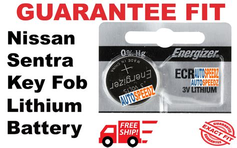 nissan sentra   key fob battery replacement smart