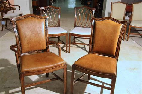 Elegant Dining Room Chairs Mahogany Chippendale Chairs For Elegant Formal Dining Rooms