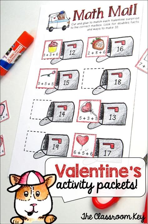 math valentines 1000 images about s day math activities on