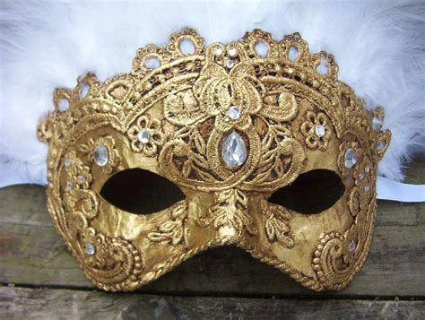Handcrafted Masks - handmade mardi gras masks from in the tower the