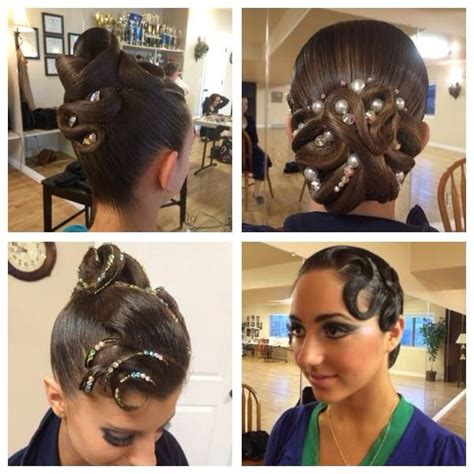 hairstyle ideas for dance competitions 27 best competition hair images on pinterest