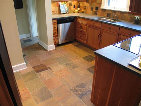 a cherry and slate kitchen in butler tarkington