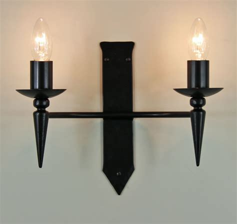 Iron Wall Lights The Clipsham Wrought Iron Wall Light Bespoke