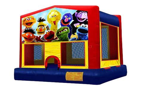 bounce house rentals sacramento bounce time party rental sesame street bounce house rentals 916 813 5867 sacramento