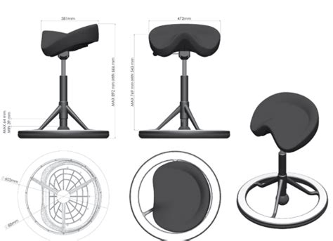 Back App Chair by The Back App Chair From Ergolife Seating Cheshire West