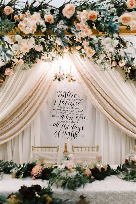 Wedding Backdrop Fabric by Best 25 Fabric Backdrop Ideas On Gold Sparkle