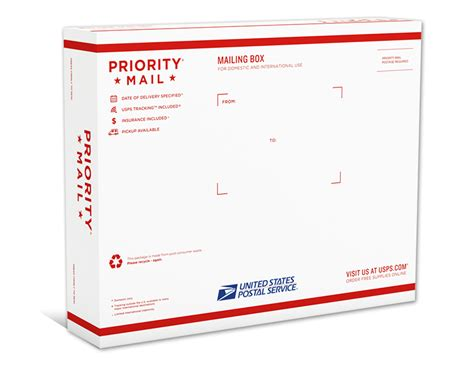 priority mail boxes sizes images