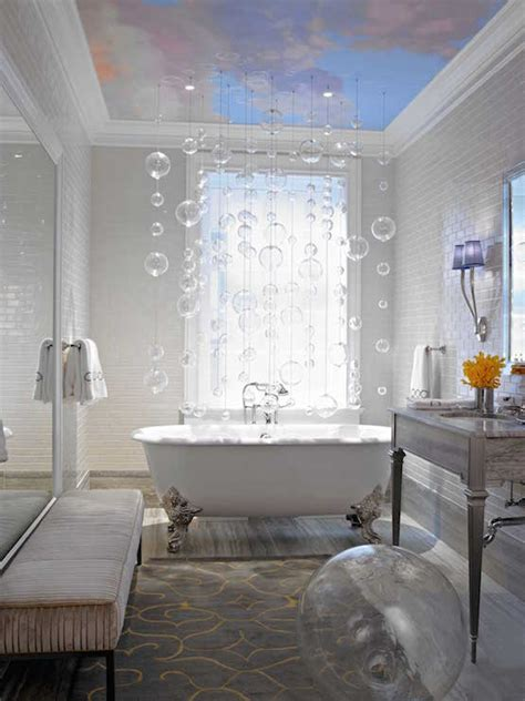 Modern Bathroom With Clawfoot Tub by White And Yellow Bathroom With Claw Foot Tub