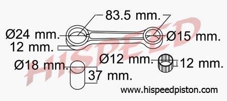 Setang Seker Stang Seher Stang Piston Crypton why45 motor spesifikasi connecting rod stang seher yamaha
