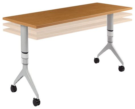 motivate adjustable height table contemporary by