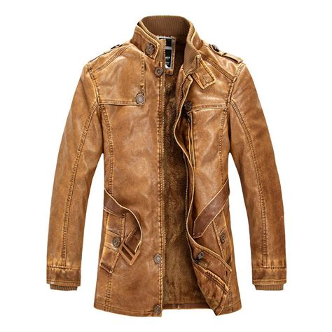 leather biker jackets for sale details about vintage mens pu leather motorcycle jacket