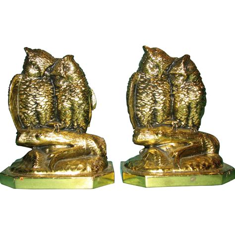 owl bookends owl bookends by brothers from justbookends on ruby