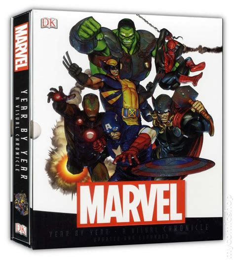 marvel year by year a visual history updated and expanded marvel year by year a visual chronicle hc 2013 dk