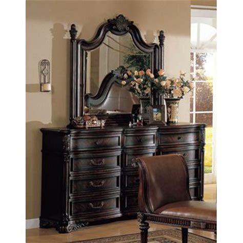 traditional poster bedroom furniture set metal canopy fabiana traditional poster canopy leather bedroom set w