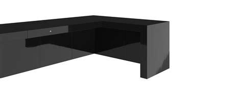 Felix Corner Desk Desk Iii Black Piano Lacquer Felix Schwake