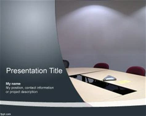 live powerpoint templates meeting room powerpoint template ppt template