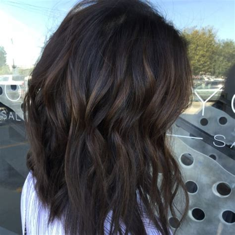 highlights on dark hair 50 very dark brown hair brown hairs