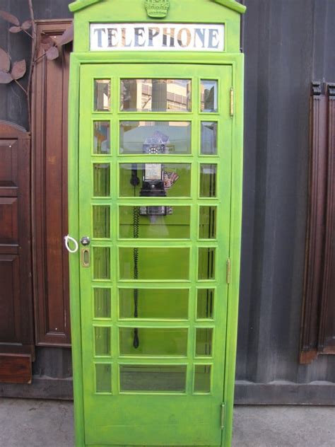 the green phone booth mindful the green telephone booth you go through to get into the vip area yelp