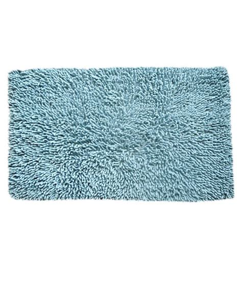 Woven Bath Mat by Homepisodes Blue Cotton Woven Bath Mat Buy Homepisodes Blue Cotton Woven Bath