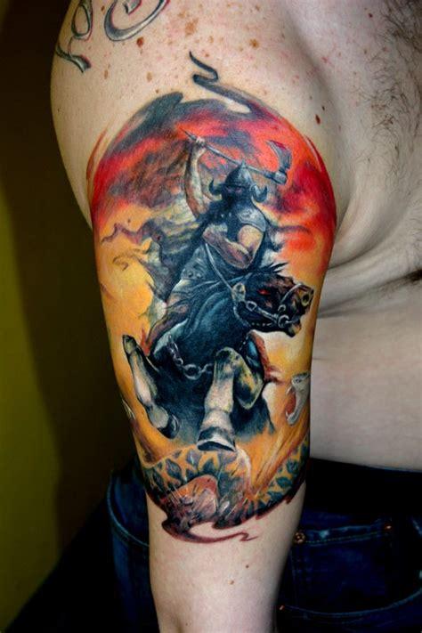 frank frazetta viking wikingowie prykas tatuaże garnek pl