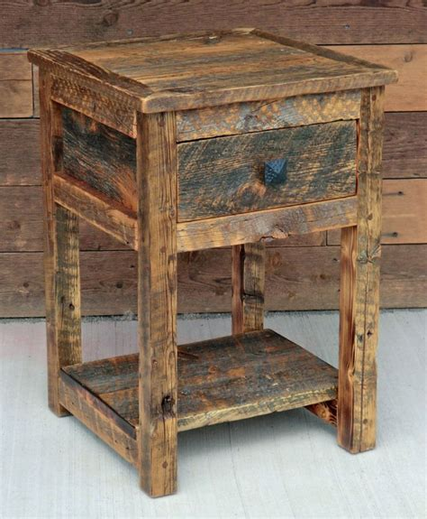 Rustic Wood Nightstand by 25 Best Ideas About Rustic Nightstand On Diy
