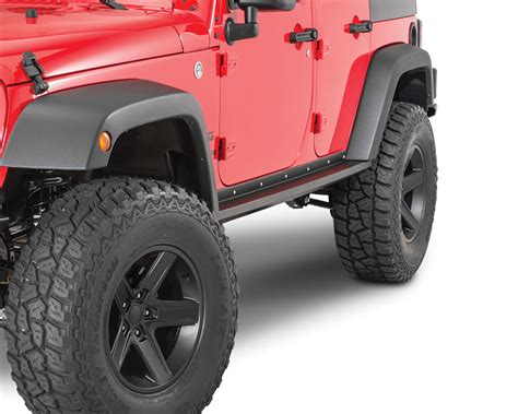 Jeep Jk Rock Sliders Teraflex 4637310 Rockguard Rock Sliders For 07 17 Jeep