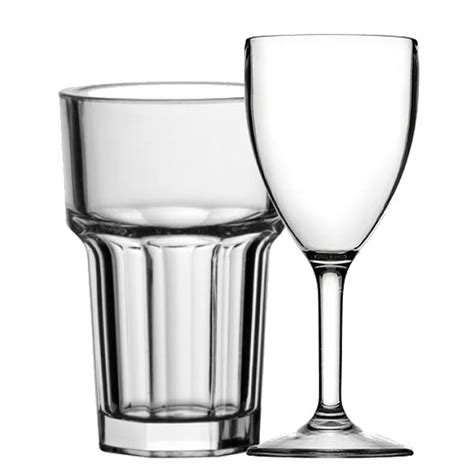 disposable barware polycarbonate disposable glassware instock group