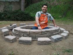 diy pit home depot how to build an above ground pit garden club