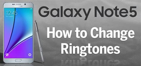 how to change ringtone on android how to add change ringtones on galaxy note 5 stateoftech iphone mac android apps
