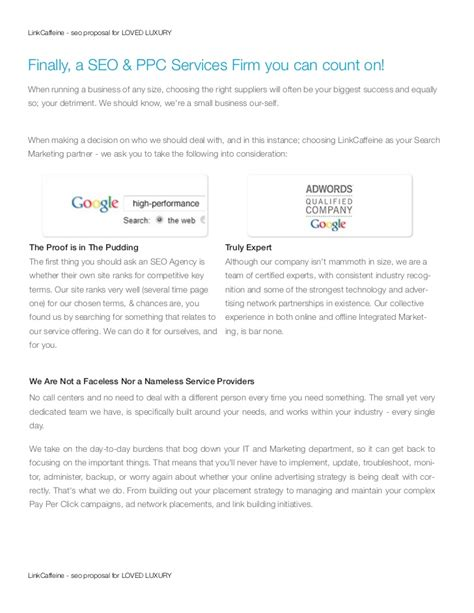 beaufiful seo proposal template pdf photos gt gt 10 sle