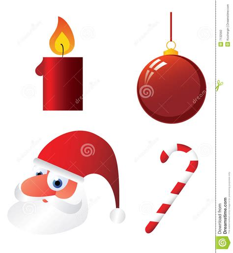images of christmas objects christmas objects stock photo image 7132560