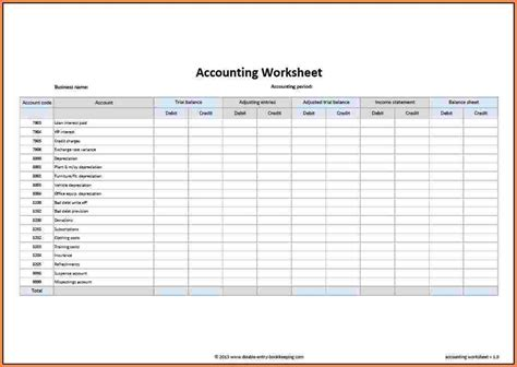 6 Sle Spreadsheet Template Excel Spreadsheets Group Household Bookkeeping Template