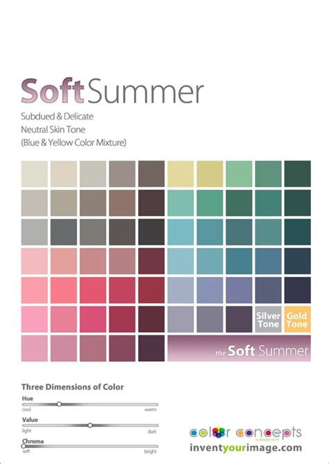 soft autumn palette soft autumn accurate colors for soft summer includes deeper
