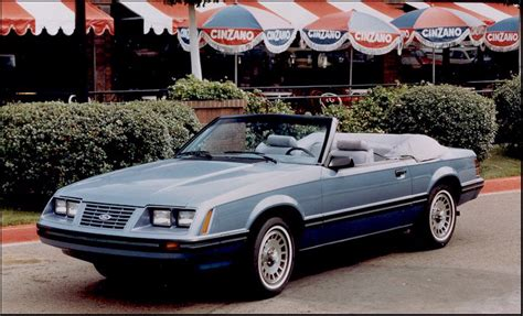 84 mustang convertible timeline 1984 mustang the mustang source
