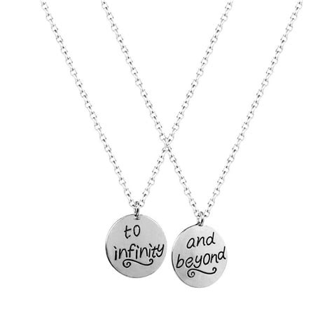 bff infinity necklaces accessories best friends bff to infinity beyond