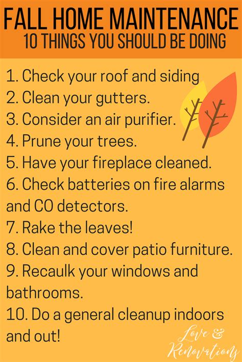 get your house in shape this winter seven things you must fix fall home maintenance tips love renovations