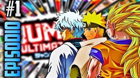 emuparadise jump ultimate stars introducion ep 1 jump ultimate stars gameplay en