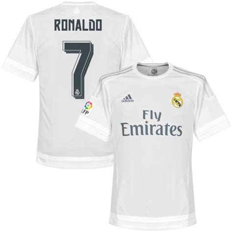 Original Jersey Real Madrid 1213 Home Bnwt real madrid home ronaldo authentic jersey 2015 2016 official printing