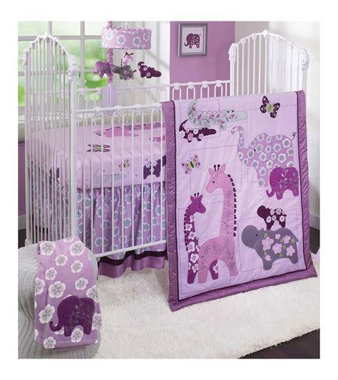 jungle crib bedding set lambs lavender jungle 4 crib bedding set