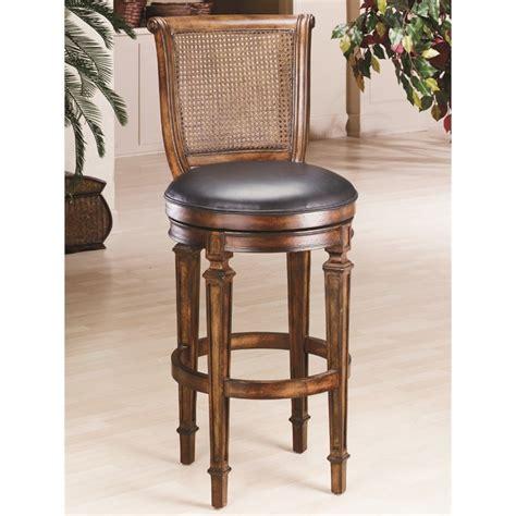 bar height bar stools swivel hillsdale dalton 24 quot counter height cane back swivel bar
