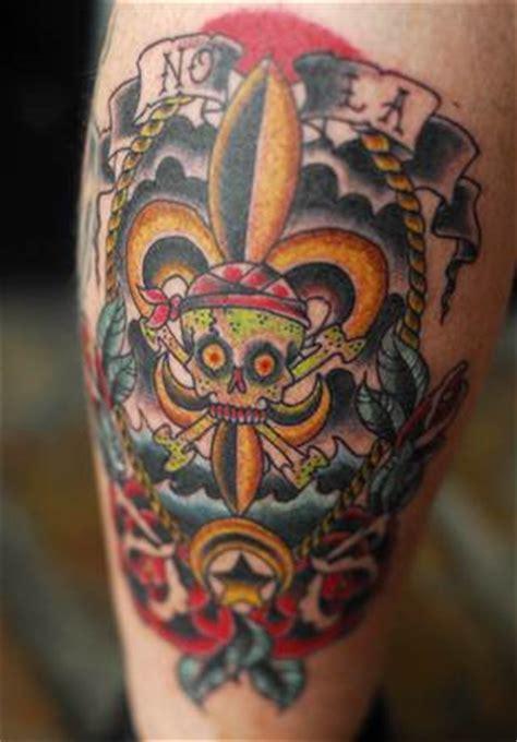 tattoo in new orleans katrina survivors sport memorial tattoos us news