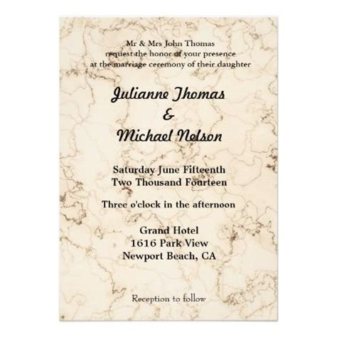 Wedding Dress Bible Verse by Is Patient Marbled Wedding Invites Bible Verse