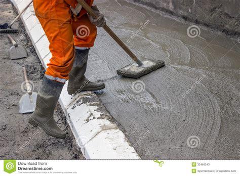 concrete screeding 2 stock photos image 33466343
