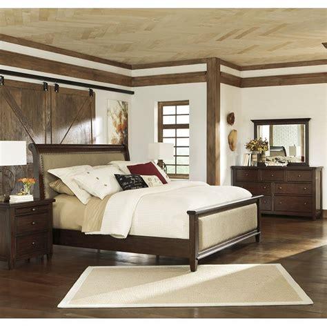 hindell park bedroom set  upholstered bed signature