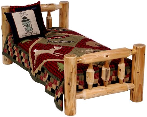 Rustic Toddler Bed log toddler s bed children s log bed rustic furniture youth b