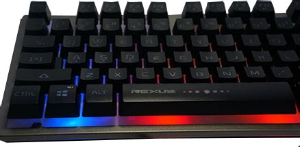 Rexus K9 Tkl Fortress Gaming Keyboard Anti Ghosting Tenkeyless rexus k9 fortress tkl