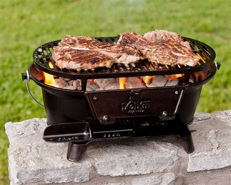 Lodge Sportsman's Charcoal Grill   Lifestyle